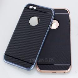 Гибридного углеродного волокна телефон чехол для iPhone 6s случае