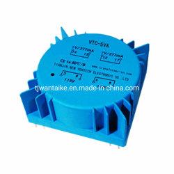 Dcv-5va encapsulé en résine époxy toroïdale/transformateur électrique/étanche