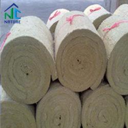 70-100Kg/m3 de la densité 3m/5m*0,6 m*50mm Couverture de laine de roche comme matériaux ignifuges, la laine minérale Couverture pour étanche ignifuge et insonorisées, une couverture pour que le réservoir