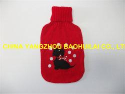Sacchetto di acqua calda coperto lavorato a maglia di 500ml BS