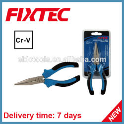 Fixtec手はHareware 6のインチCRVの長い鼻のプライヤーのホームツールの切削工具に用具を使う