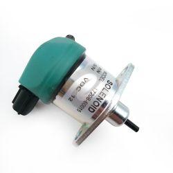 Solenoide de parada eléctrica Diesel el combustible del motor para el generador17208-60015