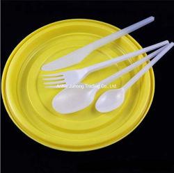100% Compostável produtos descartáveis de plástico biodegradável talheres PLA de louça de plástico