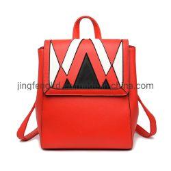 Высококачественным цветным соответствует положению женщин моды рюкзак фиолетового цвета кожи модные дамы ручку рюкзак