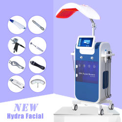 8in1 Microdermabrasion Hydrafacial 기계 히드라 얼굴 깊은 청소 산소 Dermabrasion