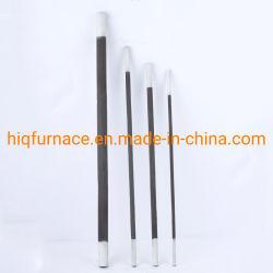 1600c forno elétrico do elemento de aquecimento do SIC de carboneto de silício, carboneto de silício resistente a altas temperaturas do elemento de aquecimento elétrico da fornalha do aquecedor da SIC