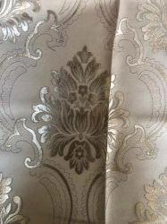 Jacquard de alta calidad de poliéster Tela de cortina de oscurecimiento