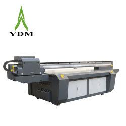 De gran formato utilizado 2.5*1.3m impresora plana UV Digital con cabezal de impresión Epson