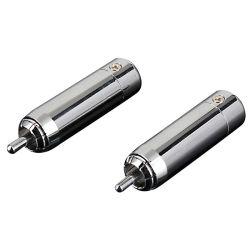 RCA de audio de gama alta de enchufar el conector coaxial con la integración