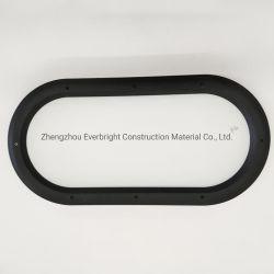 Accesorios de cristal de la puerta de la puerta de industriales de PVC la ventana de perspectiva