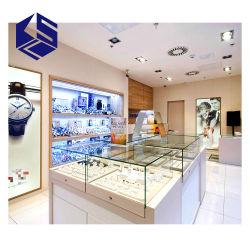 De Showcase van de Vertoning van het Horloge van het Glas van de Decoratie van de Toonzaal van de Juwelen van Fahison