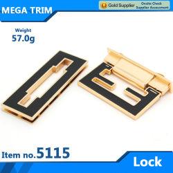 Nr. 51152 Großhandel Licht Gold Tasche Schloss Hardware