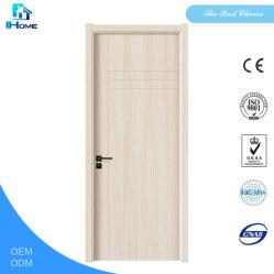 Venda quente MDF Preto Natural folheado de madeira de nogueira porta de madeira para preço de vendas