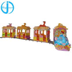 Детский электрический Луна поезд аттракционов, роскошный поезд для детей/слон электрический контакт поезд для продажи (BJ-ET18)