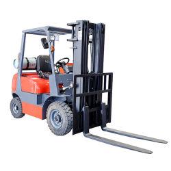 새로운 프로판 카운터밸런스 지게차 2톤 LPG 지게차 프로판 지게차 전지형