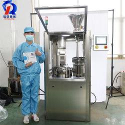 Njp-800 Caixa de Pequena Escala Velocidade Alta totalmente automático de pó de Farmacêutica Pill Pellet 00 Disco vazio cápsula de gelatina enchendo fazendo a máquina