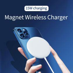 Venda Direta de fábrica Magsafe Carregador sem fio de alta qualidade 15W carregador magnético para iPhone 12