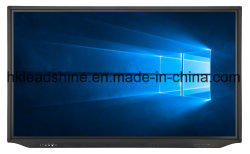 4K de 65 pulgadas con pantalla táctil interactiva de pantalla LCD de pantalla plana