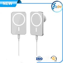 Magnetischer Auto-Aufladeeinheits-Telefon-Halter Qi-15W drahtloser für iPhone 12 Magsafe die drahtlose Aufladeeinheits-schnelle Aufladung