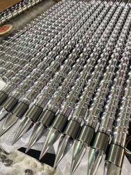 Einzelne Schraube und Zylinder für Belüftung-Tablette Extrution Maschinerie-Plastik-u. Gummi-Maschinerie-Teile