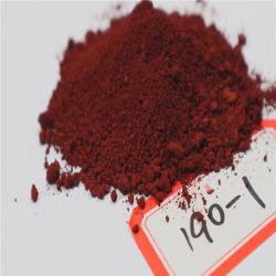 Compostos inorgânicos em pó de óxido de ferro 130 pigmento vermelho