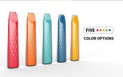 جهاز التبخير 500 قلم Vape الأنيق ذو الشكل الصغير الذي يمكن التخلص منه بعد الاستخدام