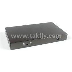 10/100Mbps 8+1 porta, interruttore di Ethernet di Poe delle 8 porte
