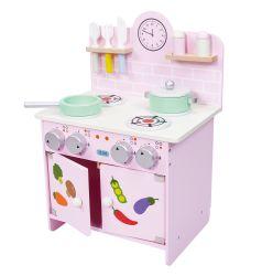 베이비 장난감 남아용 교육용 핑크 키친
