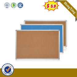 Conjunto de mobiliario escolar Offiice Arte divisor de puerta de madera enmarca la pared móvil Cartelera de corcho