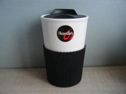 كوب القهوة من Lkb039 بحامل السيليكون