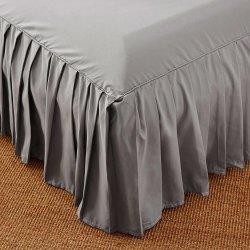 Copriletto della gonna del letto copriletto solido montato copriletto della copertura della camera da letto Tessile