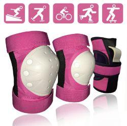 Comercio al por mayor 6pzas adulto Deportes Patines bicicleta establecida la protección de la Guardia de codo Rodilleras Protecciones Skate Palma