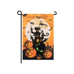 Happy Halloween double taille verticale du pavillon de jardin