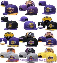Venda por grosso New-Era Barata Los Angeles Lakers equipa oficial Bordados Mitchell Ness Sport Boné Hat