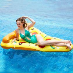 Pizza insuflável de Cilindros de Flutuação celebridade da Web Ins Adulto Cama Flutuação Espreguiçadeira PVC suprimentos de água cama de comércio por grosso