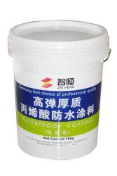 Materiales de impermeabilización del techo de Matel colorido recubrimiento impermeabilizante acrílico a base de agua