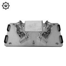 Precisione che lucida il singolo prodotto della plastica dello stampaggio ad iniezione della cavità PA66+GF