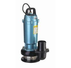 Qdx8-18-0.75kw 1HP 220V 380V 50Hz/60Hz fluxo grande cabeça alta Dayuan elétricas submergíveis Bombas de água com o interruptor de flutuação