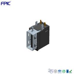 منفذ الشحن الإلكتروني للدخول الجانبي موصلات USB 2.0 AF عالية الطرف مع حماية حقيبة Shell