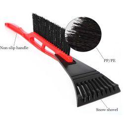 얼음 긁는 도구를 가진 솔을%s 가진 플라스틱 눈 차 삽 긁는 도구 청결한 공구