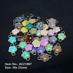 Gemstone Connector Beads Ciondolo Moda Gioielli Accessori modelli popolari AC21007