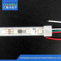 DC12V IP65 SMD5050 WS2811 IC Bande LED RVB avec tube en silicone
