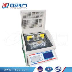 Huile isolante Full-Automatic Appareil de test de résistance diélectrique Bdv Testeur d'huile