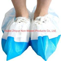La Chine usine de fabrication recouvert de plastique jetables CPE PP couvercle du caisson de nettoyage de la santé