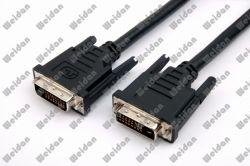 15ft tinta Dual DVI-D (24+1) pino cabo DVI HDTV