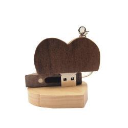 Heißes des Verkaufs-2020 Platte-Fotographien-Hochzeits-Geschenk-Weihnachtsgeschenk Inner-+ Metallgeschenk-Kasten USB-Blitz-des Laufwerk-2.0 64GB 32GB 16GB 4GB U
