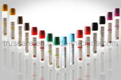 O tubo de coleta de sangue com marcação CE e ISO aprovado