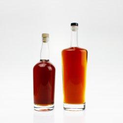 Hohe Qualität mit Zertifizierung umweltfreundliche Gesundheit 750 ml Flasche Flint Glas Whiskey Rum Brandy