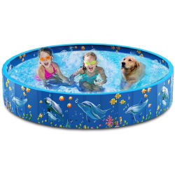 제조업체는 PET 풀 PVC 접이식 PET 욕조 PET를 공급합니다 소모품 그루밍 청소 개 수영장 수영장 수영장