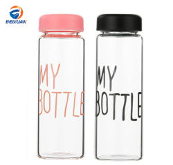 500ml BPA geben Plastikwasser-Flasche meine Flasche für das Trinken frei